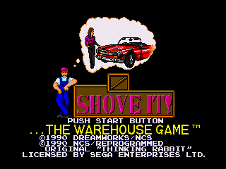 Shove It!: The Warehouse Game