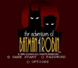 Adventures of Batman & Robin