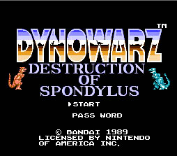 Dinowarz: Destruction of Spondylus