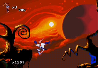 Червяк Джим 2 / Earthworm Jim 2