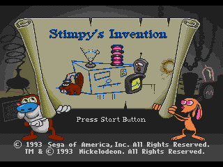 Ren and Stimpy Show: Stimpy's Invention
