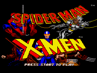 Spider-Man and X - Men
