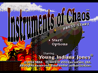 Young Indiana Jones: Instrument of Chaos