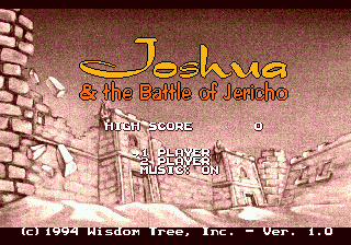 Joshua & the Battle of Jericho